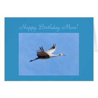Happy Birthday Mom Template Card