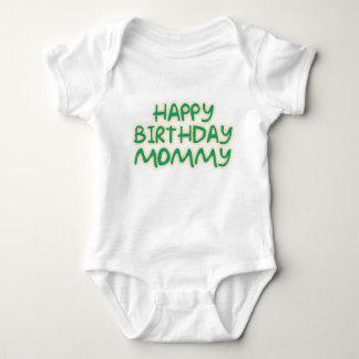 Happy Birthday Mommy Baby Bodysuit