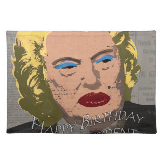 Happy Birthday Mr. President Placemat