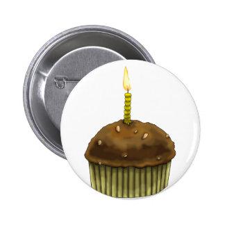 Happy Birthday Muffin Button
