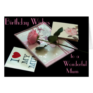 HAPPY BIRTHDAY MUM GREETING CARD