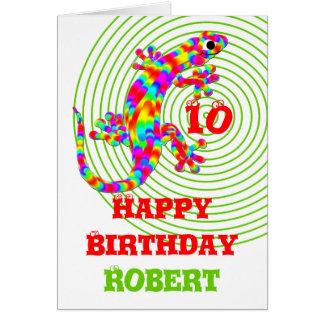 Happy Birthday Name Template