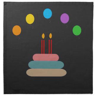 Happy Birthday Napkin