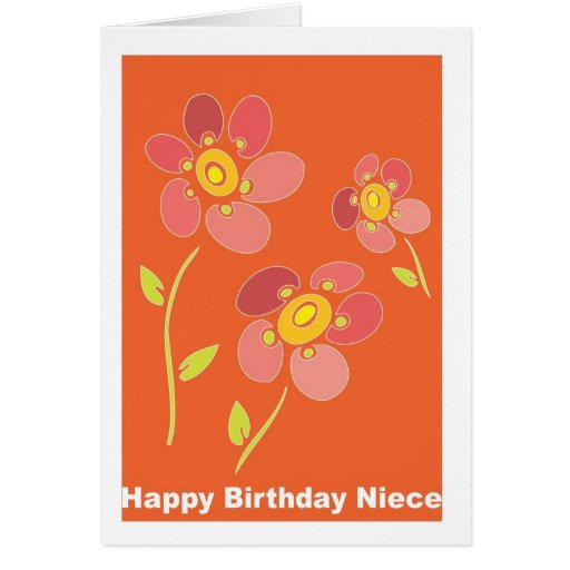 Happy Birthday Niece | Zazzle