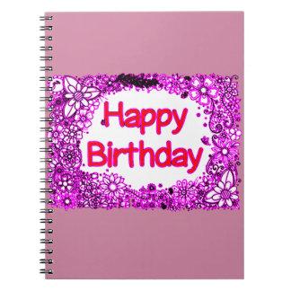 Happy Birthday Notebooks