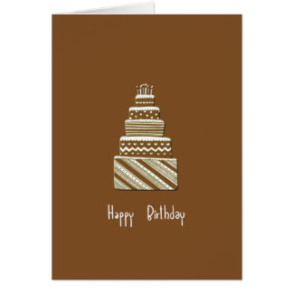 Happy Birthday Notecard Note Card