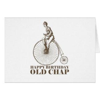 Happy Birthday Old Chap Card