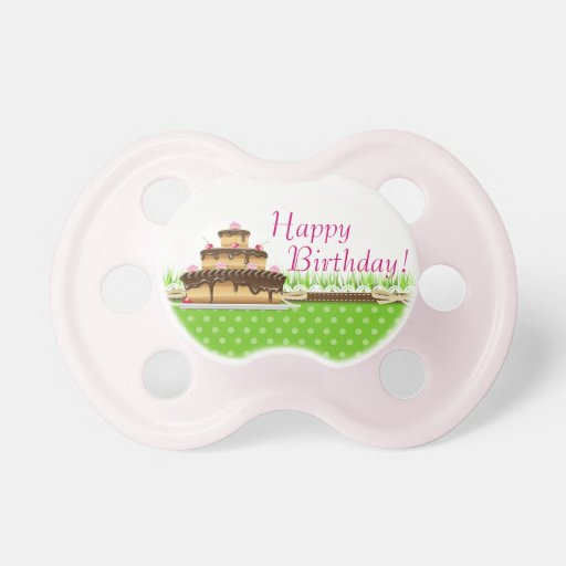 Happy Birthday! Baby Pacifiers