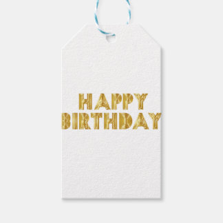 Happy Birthday Pack Of Gift Tags