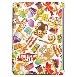 Happy Birthday Pattern Illustration Cover For iPad Air