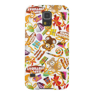 Happy Birthday Pattern Illustration Galaxy S5 Cases