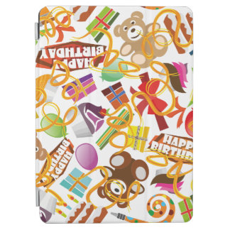 Happy Birthday Pattern Illustration iPad Air Cover