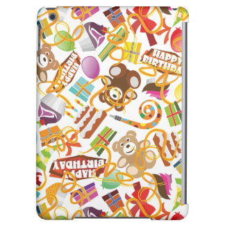 Happy Birthday Pattern Illustration iPad Air Covers