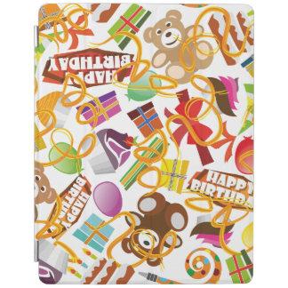 Happy Birthday Pattern Illustration iPad Cover