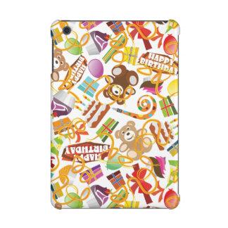 Happy Birthday Pattern Illustration iPad Mini Case