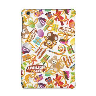 Happy Birthday Pattern Illustration iPad Mini Retina Case