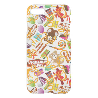 Happy Birthday Pattern Illustration iPhone 8/7 Case