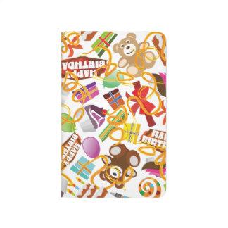 Happy Birthday Pattern Illustration Journal