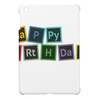Happy Birthday Periodic Case For The iPad Mini