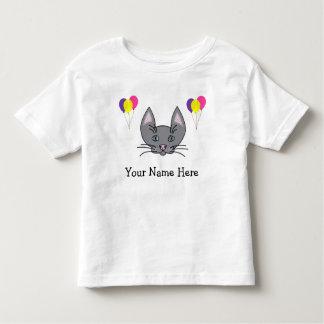 Happy Birthday Personalized Cat T-Shirt