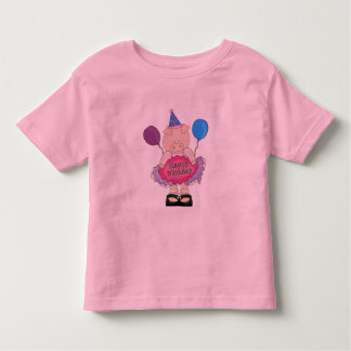 Happy Birthday Pig Toddler T-shirt