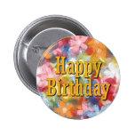 Happy Birthday Pins