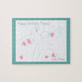 Happy Birthday Poppy! Puzzle