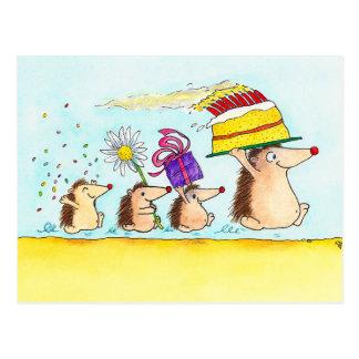 Happy Birthday postcard by Nicole Janes