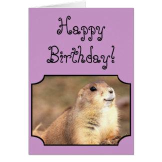 Happy Birthday Prairie greeting card