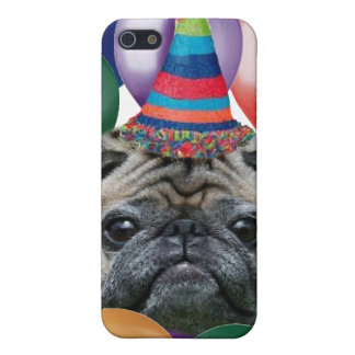 Happy birthday Pug dog iphone 4 speck case iPhone 5/5S Cases