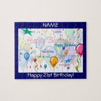 Happy Birthday Puzzle (Personalize)