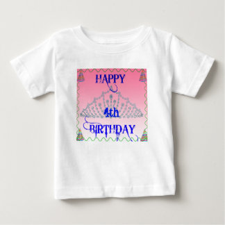 Happy Birthday - Queen Today - Toddler - Pink Baby T-Shirt