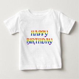 Happy Birthday Rainbow Baby T-Shirt