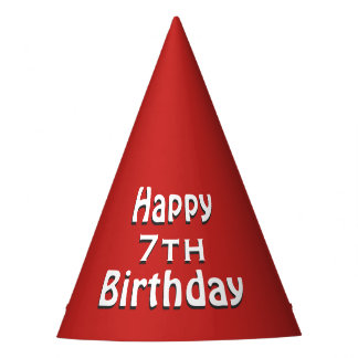 Happy Birthday Red Party Hat