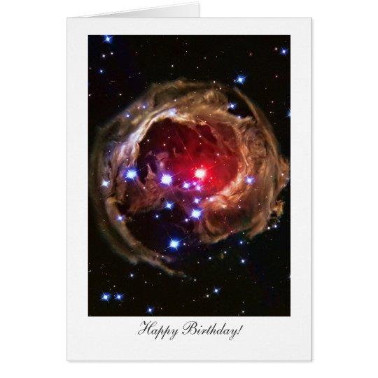 Happy Birthday, Red Supergiant Star Monocerotis Card
