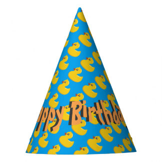 Happy Birthday Rubber Ducky! Party Hat