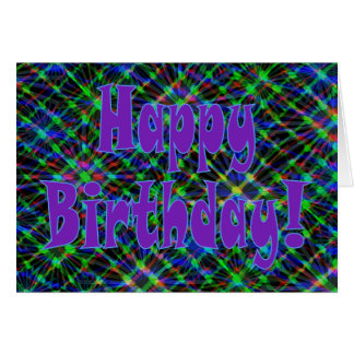 Happy Birthday! Say It With Flair! Card