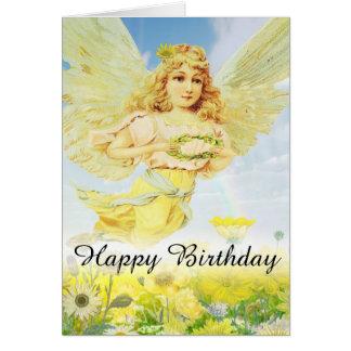 Happy Birthday Sending Love Card