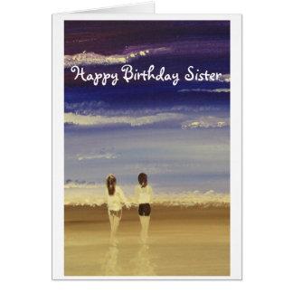 Happy Birthday Sister Card