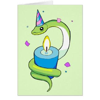 Happy Birthday Snake Card