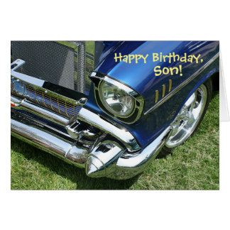 """Happy Birthday, Son"" Card"