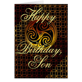 Happy Birthday Son Greeting Card