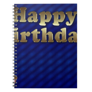happy-birthday spiral notebook