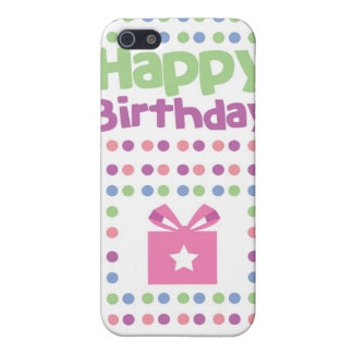 Happy Birthday spotty card Case For iPhone 5/5S