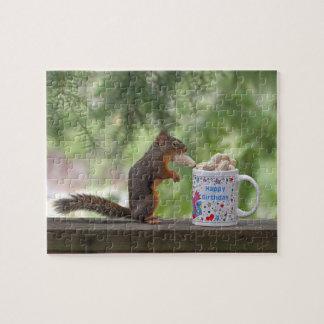 Happy Birthday Squirrel Puzzles