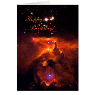 Happy Birthday - Star Cluster Pismis 24 Card
