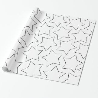 Happy Birthday stars Wrapping Paper