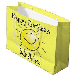 Happy Birthday, Sunshine! Large Gift Bag