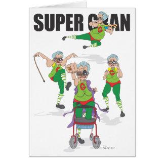 Happy Birthday Super Gran Card