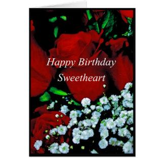 Happy Birthday Sweetheart Card